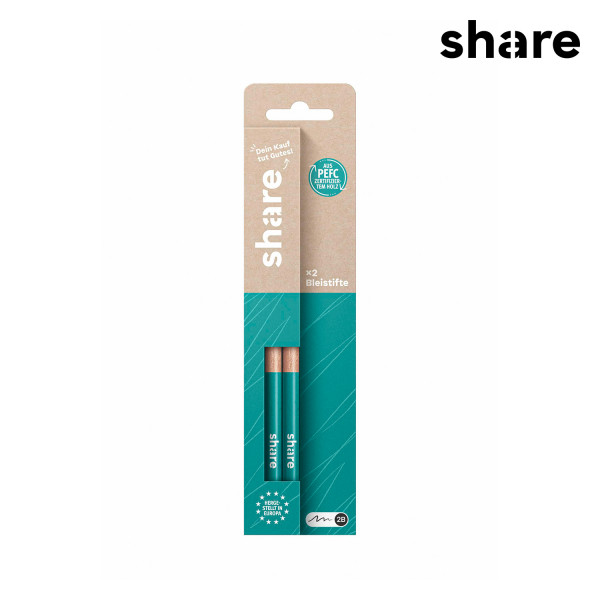 share - Bleistift 2er-Set