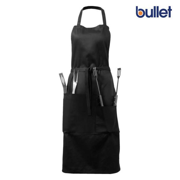 Bullet Bear Grillschürze mit Utensilien