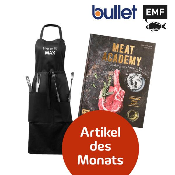 Bundle Meat Academy & Bullet Bear Grillschürze personalisiert