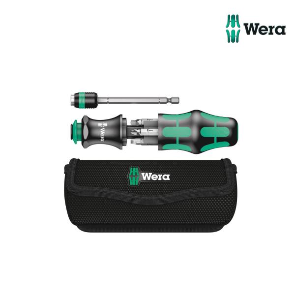 Schraubenzieher WERA Kraftform Kompakt 20 mit Tasche