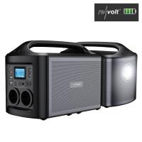 Powerbank & Solar-Konverter 156 Ah, 2x 230 Volt, USB, QC 3.0, 500 W