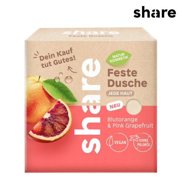 share - Feste Dusche Blutorange & Pink Grapefruit