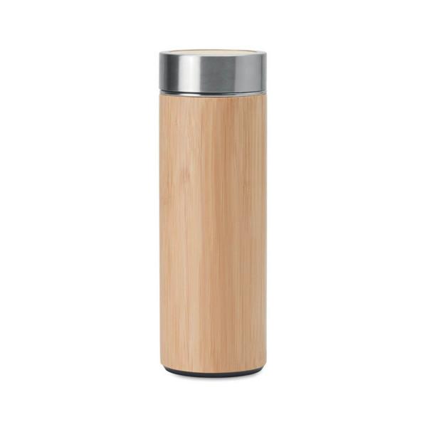 Bambus Isolierflasche