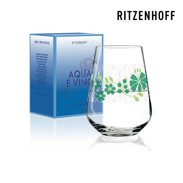 Wasser- und Weinglas von Ritzenhoff von Burkhard Neie