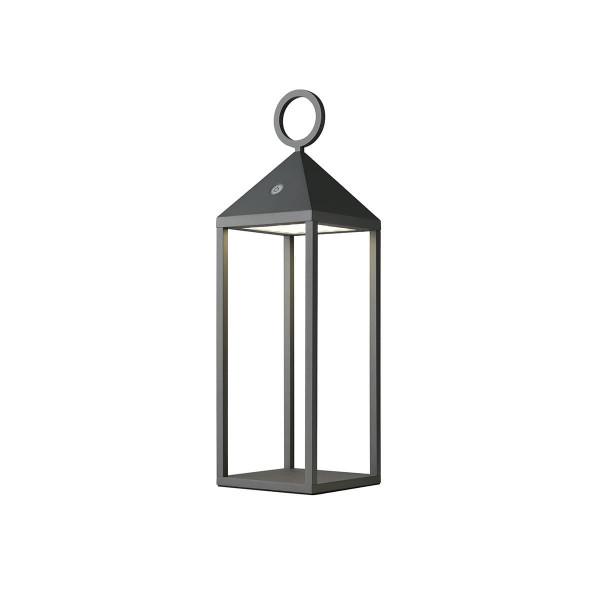 Outdoorlaterne mit LED Beleuchtung Klein