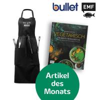 Bundle Aromenfeuerwerk - Die Neue Grüne Küche & Bullet Bear Grillschürze personalisiert