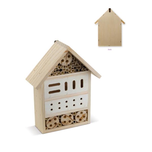 Insektenhotel und Bienenhotel