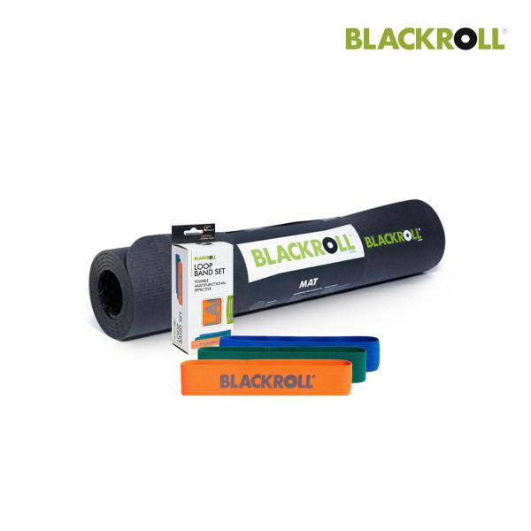 Set: Blackroll Loop Bänder - 3er Set / Blackroll Mat