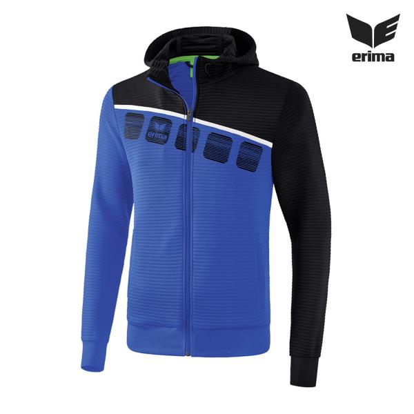 Erima 5-C Trainingsjacke mit Kapuze Herren