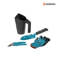 GARDENA 4-tlg. Gartenset mit Multifunktionskanne