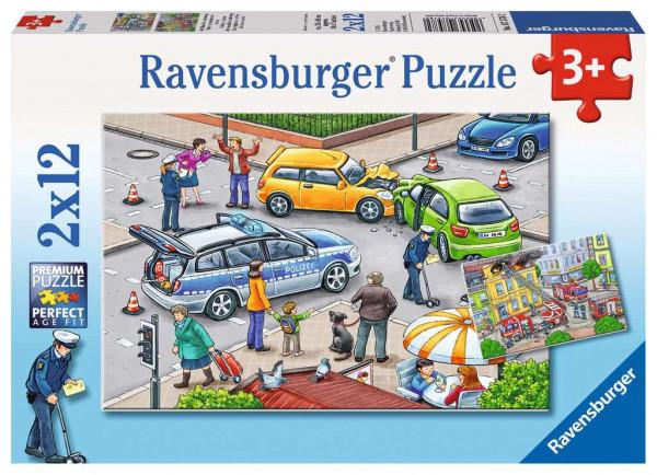 Ravensburger® Puzzel mit Blaulicht unterwegs
