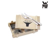 WMF 12tlg Steakbesteck inkl. Holzkassette